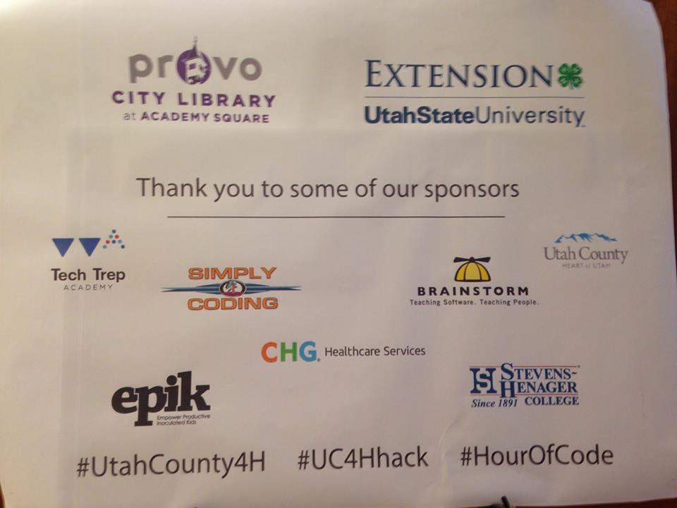 Hackathon sponsors