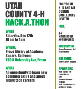 Utah County Hackathon